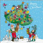 Quentin Blake Charity Christmas Cards Christmas Tree